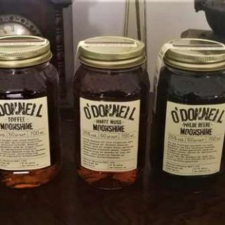 5x O'Donnell Moonshines 700ml