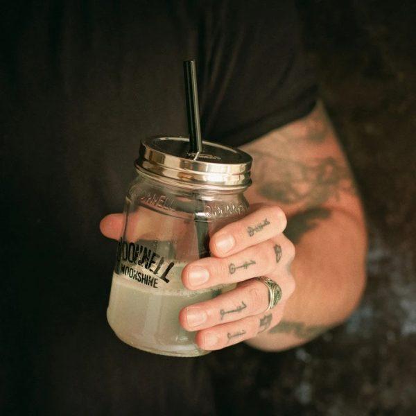 Caps Strohhalmhalter O'Donnell Moonshiner 350 700ml Glas