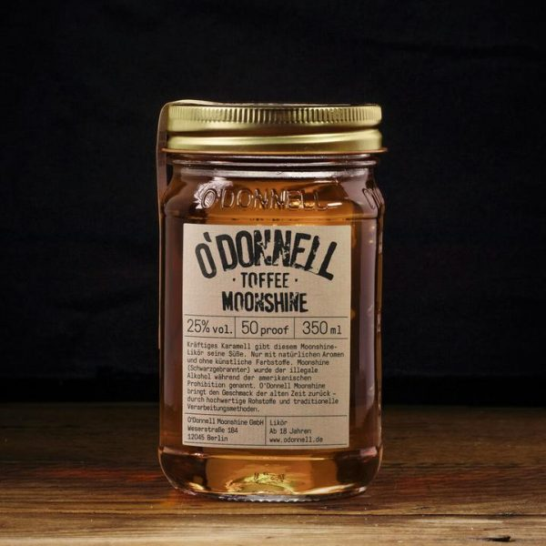 Toffee Odoonell Moonshiner 350ml 1