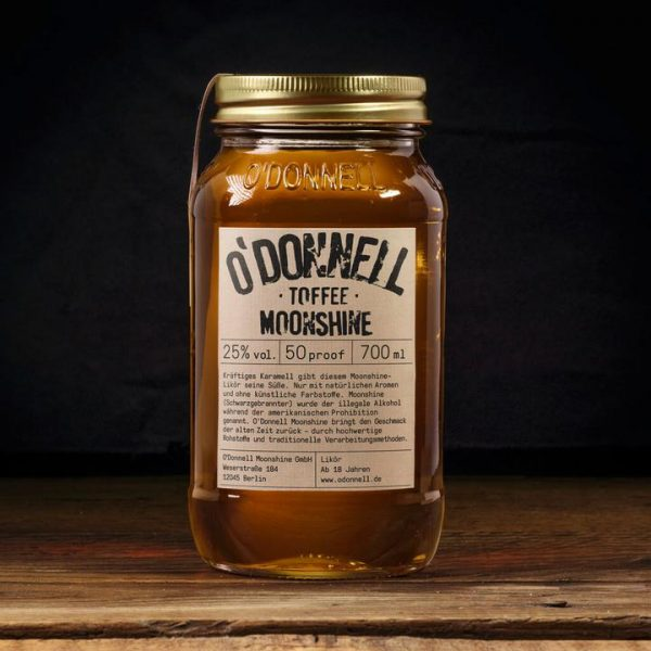 Toffee Odoonell Moonshiner 700ml