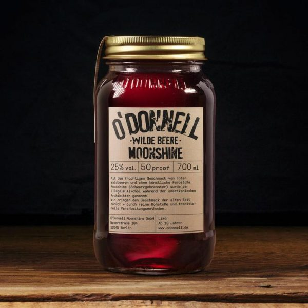 Wilde Beere Odoonell Moonshiner 700ml