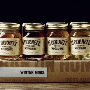 Winter Minis 50ml O'Donnell Moonshiner Liköre