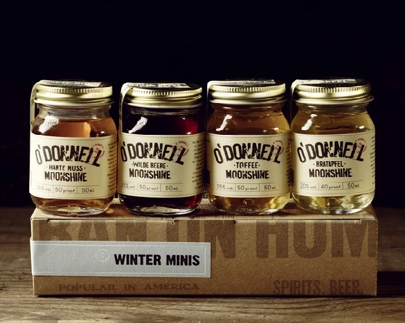 Winter Minis 50ml O'Donnell Moonshiner Liköre