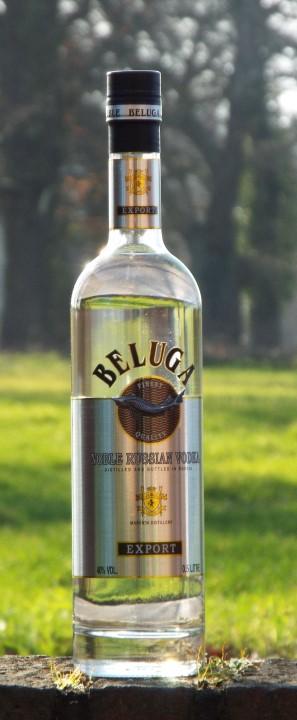 Beluga Noble Russian Vodka Wodka EXPORT 0,5