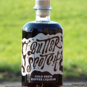 Butterscotch cold brew coffee likoer