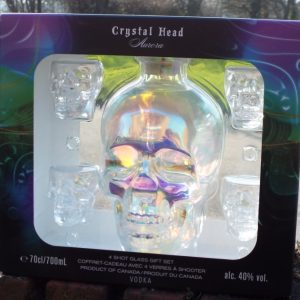 Crystal Head Vodka 0,7 4 Shots