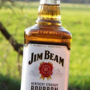 cJim Beam Kentucky Straight Bourbon Whiskey Whisky 0,7 alk.40% ab18J