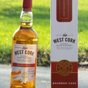 West Cork Blended Irish Whiskey Bourbon Cask Whisky Geschenkbox
