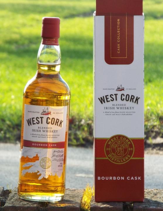 West Cork Blended Irish Whiskey Bourbon Cask Whisky Geschenkbox
