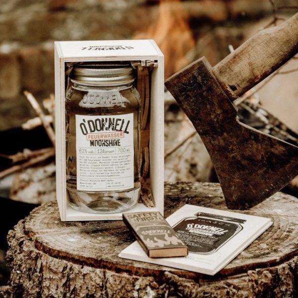 Odonnell Vodka Wodka Feuerwasser 1